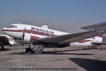 img1093 Douglas C-47B-35-DK C9-ASQ Interocean Airways © Michel Anciaux
