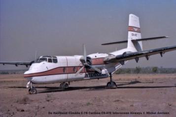 img1100 De Havilland Canada C-7B Caribou C9-ATE Interocean Airways © Michel Anciaux