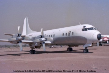 img1101 Lockheed L-188A Electra HR-AMM Interlink Airlines Pty © Michel Anciaux