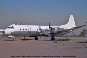 img1102 Lockheed L-188A Electra HR-AML Interlink Airlines Pty © Michel Anciaux