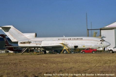 img1302 Boeing 727-116(C) D2-TJA Angola Air Charter © Michel Anciaux