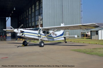 img1433 Pilatus PC-6B2-H4 Turbo Porter ZS-NIU South African Police Air Wing © Michel Anciaux