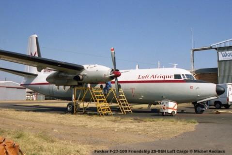 img1444 Fokker F-27-100 Friendship ZS-OEH Luft Cargo © Michel Anciaux
