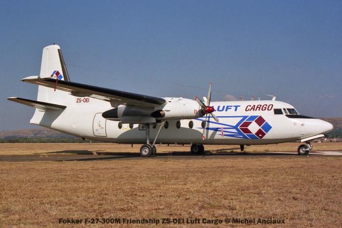 img1445 Fokker F-27-300M Friendship ZS-OEI Luft Cargo © Michel Anciaux