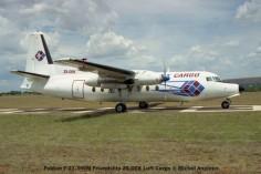 img1545 Fokker F-27-300M Friendship ZS-OEK Luft Cargo © Michel Anciaux