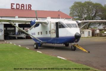 img1562 Short SC.7 Skyvan 3 Variant 100 ZS-OIO Avia Air Charter © Michel Anciaux