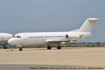 img1671 Fokker F-28-4000 Fellowship ZS-XGX Intensive Air Pty © Michel Anciaux