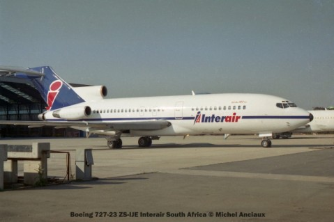 img1906 Boeing 727-23 ZS-IJE Interair South Africa © Michel Anciaux