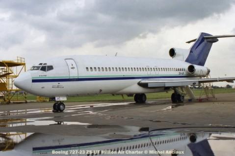 img1909 Boeing 727-23 ZS-IJF Million Air Charter © Michel Anciaux