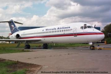 img2004 McDonnell Douglas DC-9-32 9Q-CWF Wetrafa Airlift © Michel Anciaux