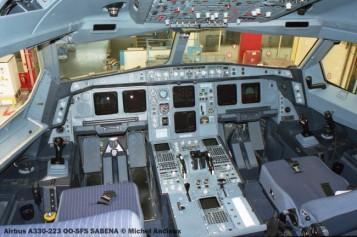 img213 Airbus A330-223 OO-SFS SABENA © Michel Anciaux