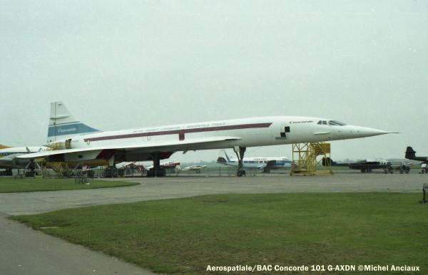 img385 Aerospatiale BAC Concorde 101 G-AXDN © Michel Anciaux