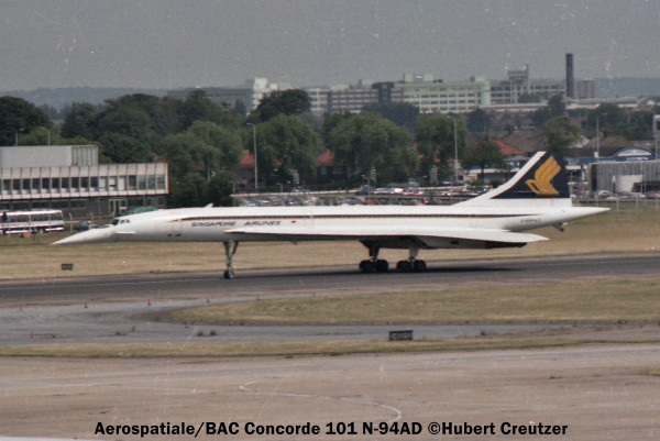 img457 Aerospatiale BAC Concorde 101 G-N94AD Singapore Airlines © Hubert Creutzer