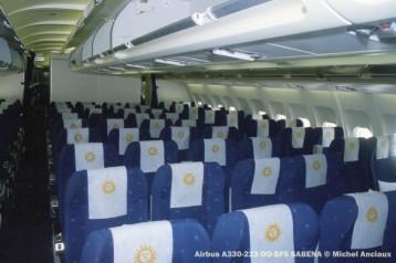 img631 Airbus A330-223 OO-SFS SABENA © Michel Anciaux