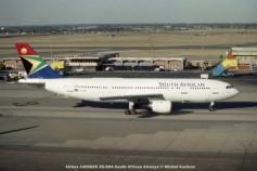 img807 Airbus A300B2K ZS-SDA South African Airways © Michel Anciaux