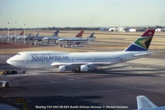 img808 Boeing 747-344 ZS-SAT South African Airways © Michel Anciaux