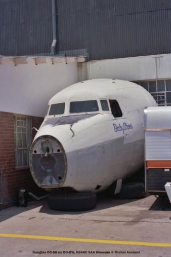 img815 Douglas DC-6B ex OO-IFA, N84AU SAA Museum © Michel Anciaux