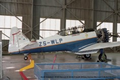img847 North American AT-6D Harvard III ZS-WLP South African Airways Museum © Michel Anciaux