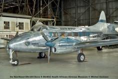 img849 De Havilland DH-104 Dove 6 ZS-BCC South African Airways Museum © Michel Anciaux