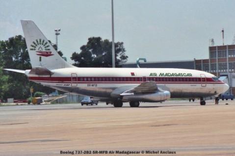 img855 Boeing 737-2B2 5R-MFB Air Madagascar © Michel Anciaux