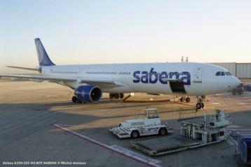 img901 Airbus A330-322 OO-SFX SABENA © Michel Anciaux