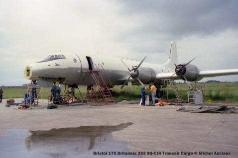 img962 Bristol 175 Britannia 253 9Q-CJH Transair Cargo © Michel Anciaux