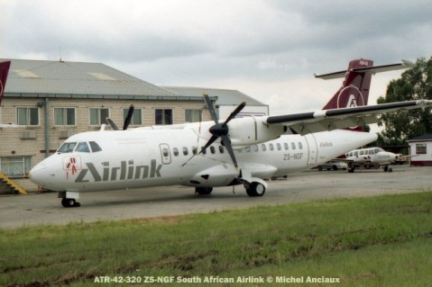 img979 ATR-42-320 ZS-NGF South African Airlink © Michel Anciaux