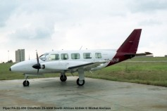 img983 Piper PA-31-350 Chieftain ZS-NHM South African Airlink © Michel Anciaux