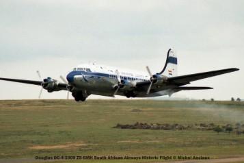 009 Douglas DC-4-1009 ZS-BMH South African Airways Historic Flight © Michel Anciaux