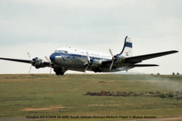 009 Douglas DC-4-1009 ZS-BMH South African Airways Historic Flight © Michel Anciaux