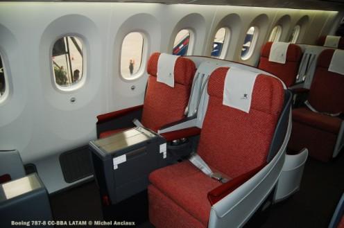 023 Boeing 787-8 CC-BBA LATAM © Michel Anciaux
