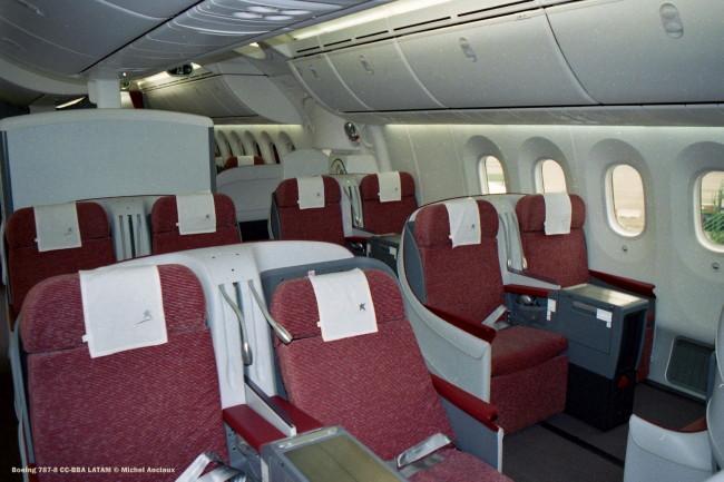 027 Boeing 787-8 CC-BBA LATAM © Michel Anciaux