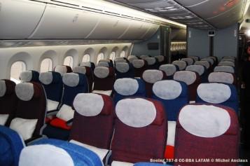 031 Boeing 787-8 CC-BBA LATAM © Michel Anciaux