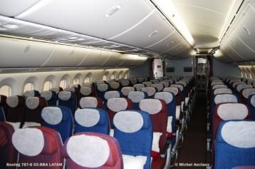032 Boeing 787-8 CC-BBA LATAM © Michel Anciaux