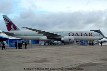 039 Boeing 777-2DZ A7-BBH Qatar Airways © Michel Anciaux