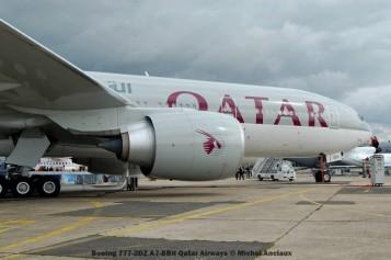 114 Boeing 777-2DZ A7-BBH Qatar Airways © Michel Anciaux
