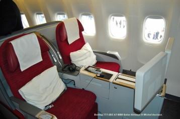 183 Boeing 777-2DZ A7-BBH Qatar Airways © Michel Anciaux
