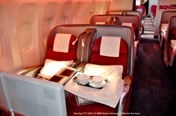188 Boeing 777-2DZ A7-BBH Qatar Airways © Michel Anciaux