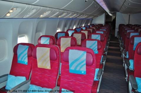 189 Boeing 777-2DZ A7-BBH Qatar Airways © Michel Anciaux