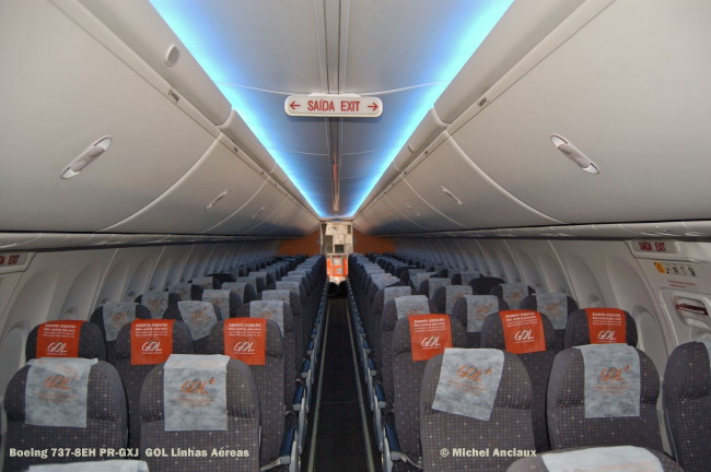 392 Boeing 737-8EH PR-GXJ GOL Linhas Aéreas © Michel Anciaux