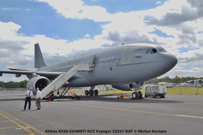 914 Airbus A330-234MRTT KC2 Voyager ZZ337 RAF © Michel Anciaux