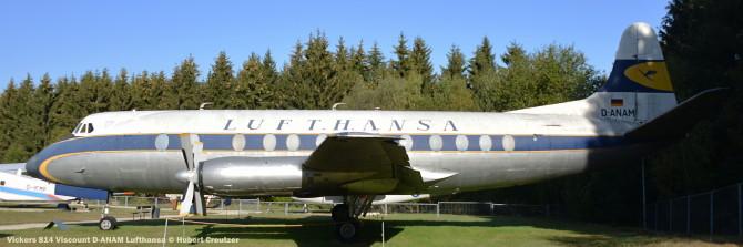 DSC_5708 Vickers 814 Viscount D-ANAM Lufthansa © Hubert Creutzer