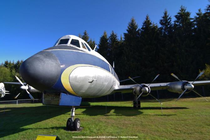 DSC_5713 Vickers 814 Viscount D-ANAM Lufthansa © Hubert Creutzer