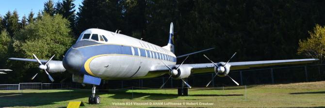 DSC_5718 Vickers 814 Viscount D-ANAM Lufthansa © Hubert Creutzer