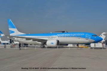 DSC_0088 Boeing 737-8 MAX LV-GVE Aerolineas Argentinas © Michel Anciaux