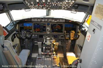 DSC_0089 Boeing 737-8 MAX LV-GVE Aerolineas Argentinas © Michel Anciaux