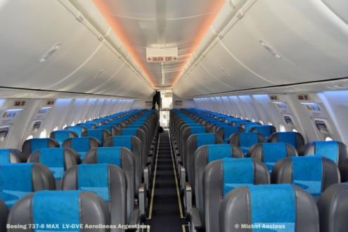 DSC_0145 Boeing 737-8 MAX LV-GVE Aerolineas Argentinas © Michel Anciaux