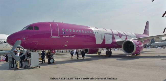 DSC_0170 Airbus A321-253N TF-SKY WOW Air © Michel Anciaux