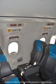 DSC_0474 Boeing 737-8 MAX LV-GVE Aerolineas Argentinas © Michel Anciaux