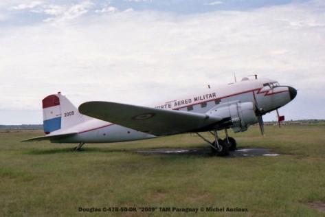 img1110 Douglas C-47B-50-DK ''2009'' TAM Paraguay © Michel Anciaux